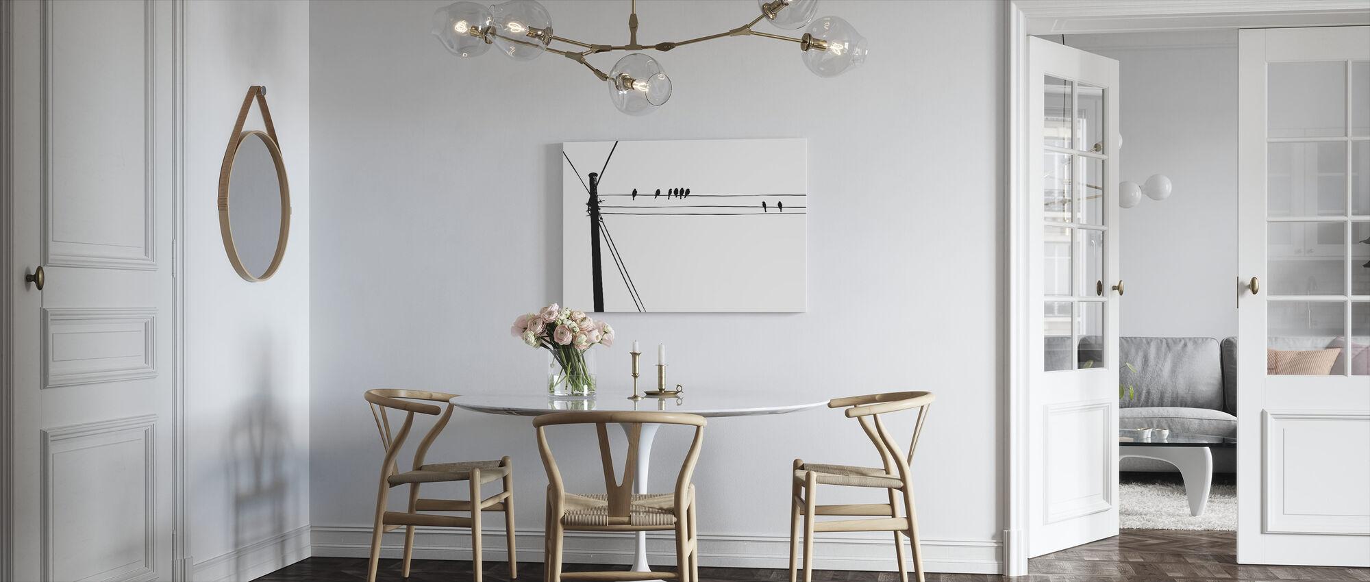 Merel - Canvas print - Keuken