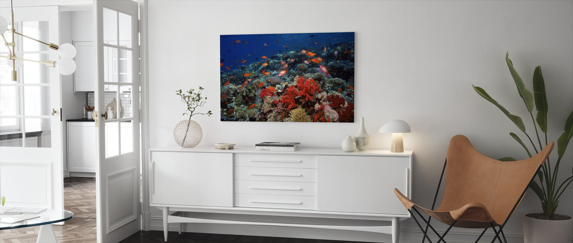 Red Sea - Canvas print - Living Room