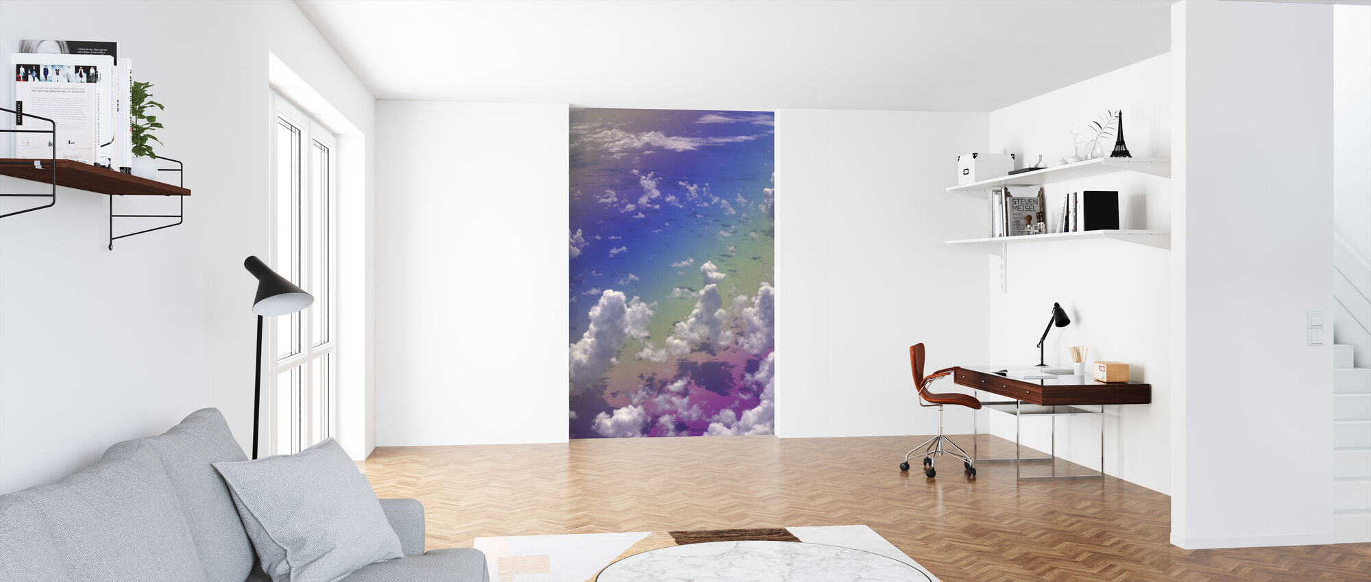 Clouds from Above - Wallpaper - Office