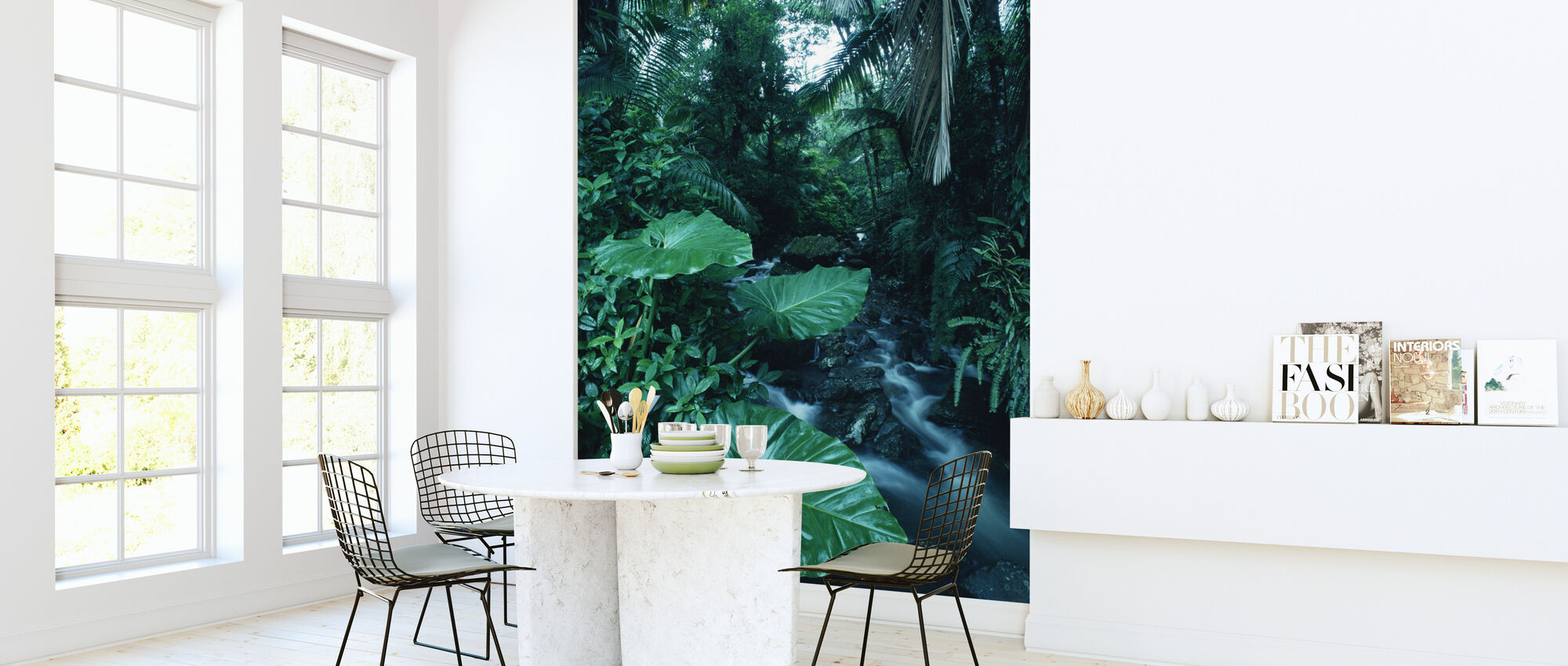 Rainforest - Wallpaper - Kitchen