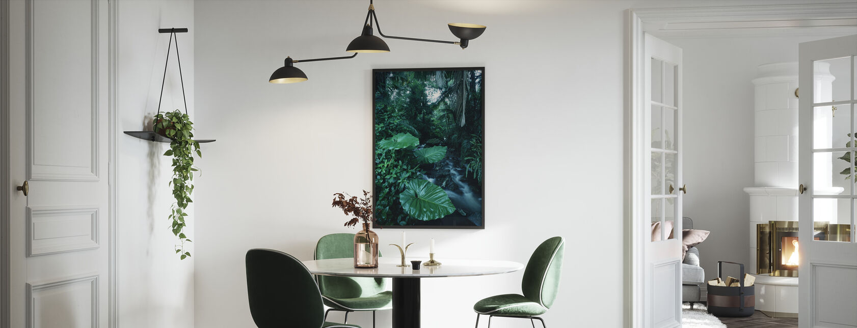 Rainforest - Framed print - Kitchen
