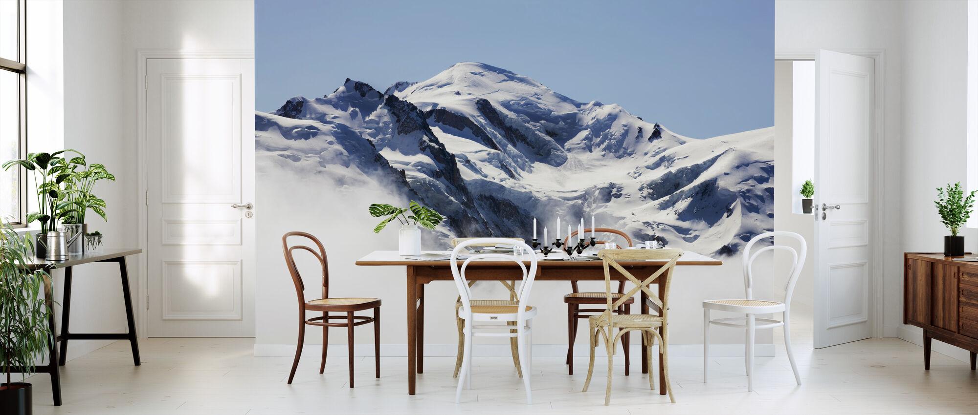 Mont Blanc - Behang - Keuken