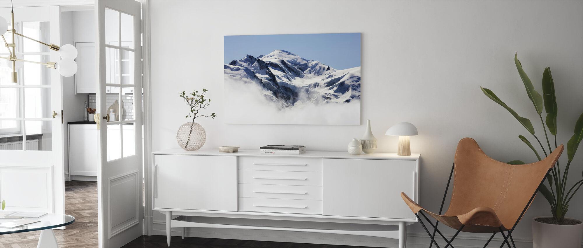 Mont Blanc - Canvas print - Living Room
