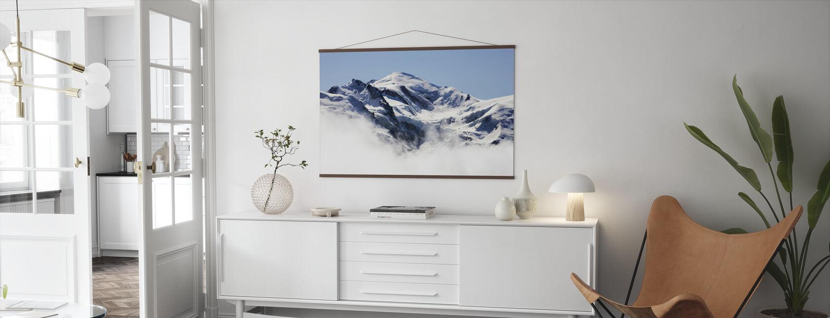 Mont Blanc - Poster - Living Room
