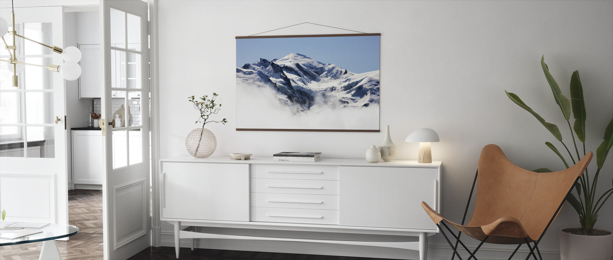 Mont Blanc - Poster - Living Room