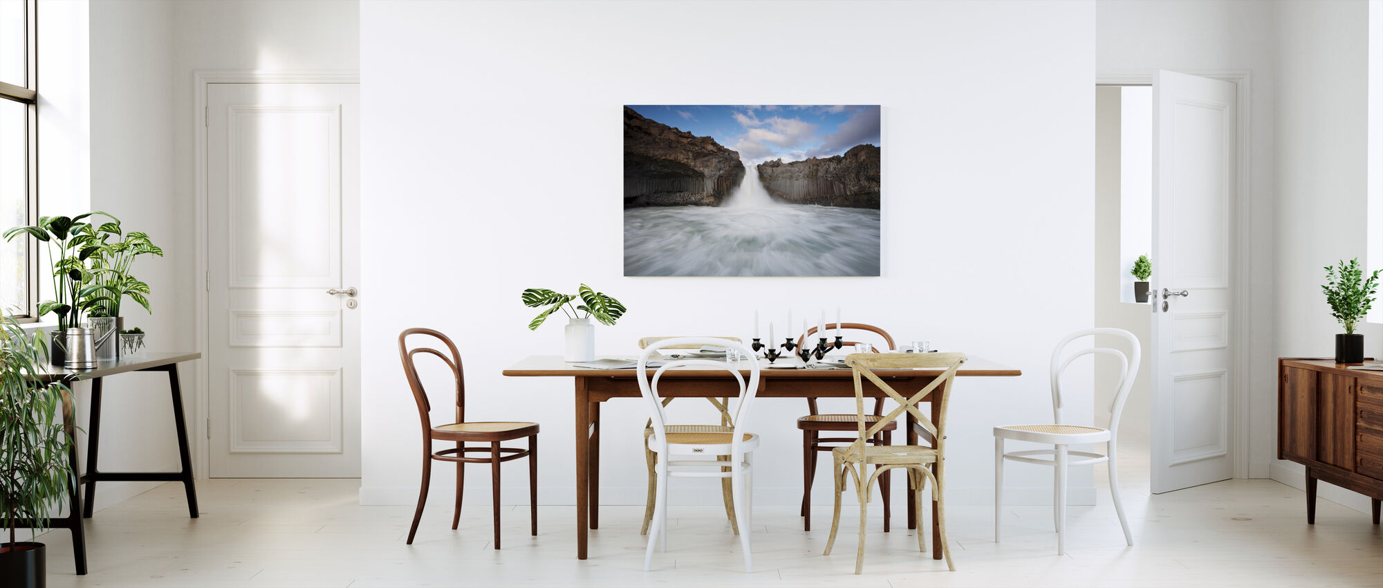 Wild Water - Canvas print - Kitchen