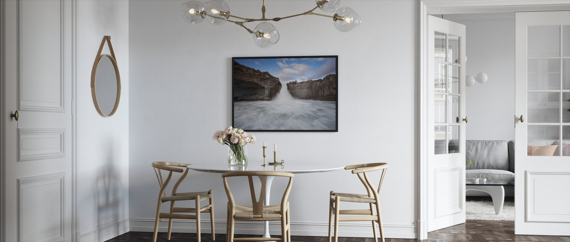 Wild Water - Framed print - Kitchen