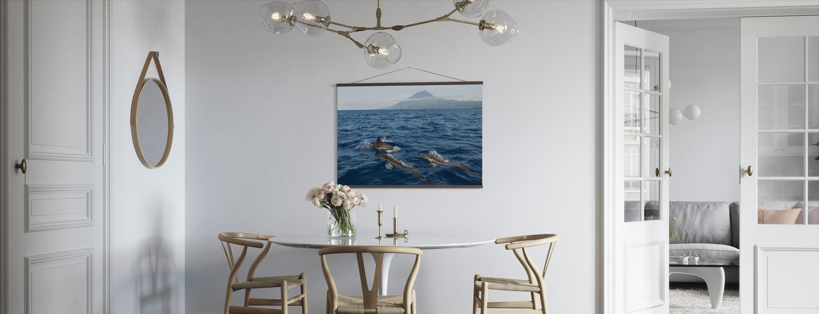 Dolphins in the Azores - Poster - Kitchen