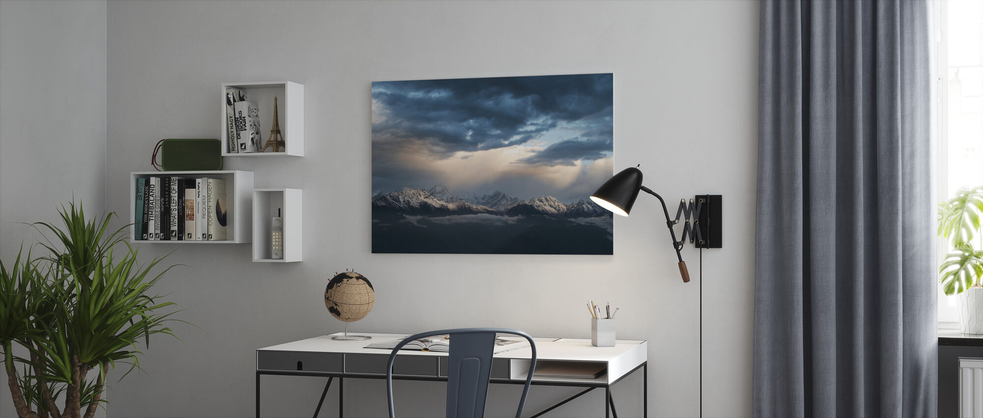 Lights and Motion - Canvas print - Office