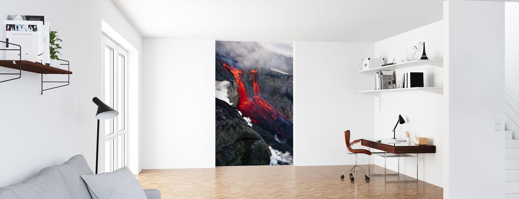 Liquid Fire - Wallpaper - Office