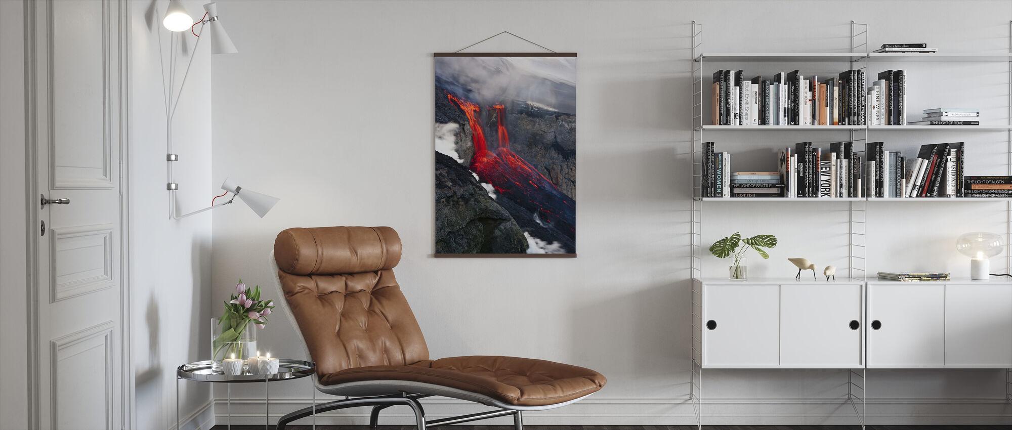 Liquid Fire - Poster - Living Room
