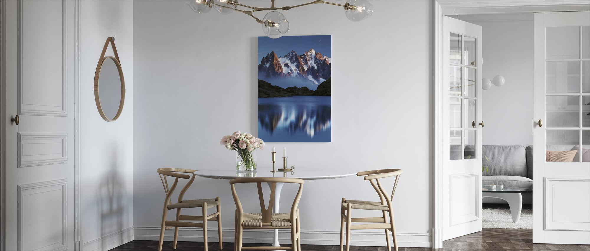 Blue Mountain Mirror - Canvas print - Kitchen