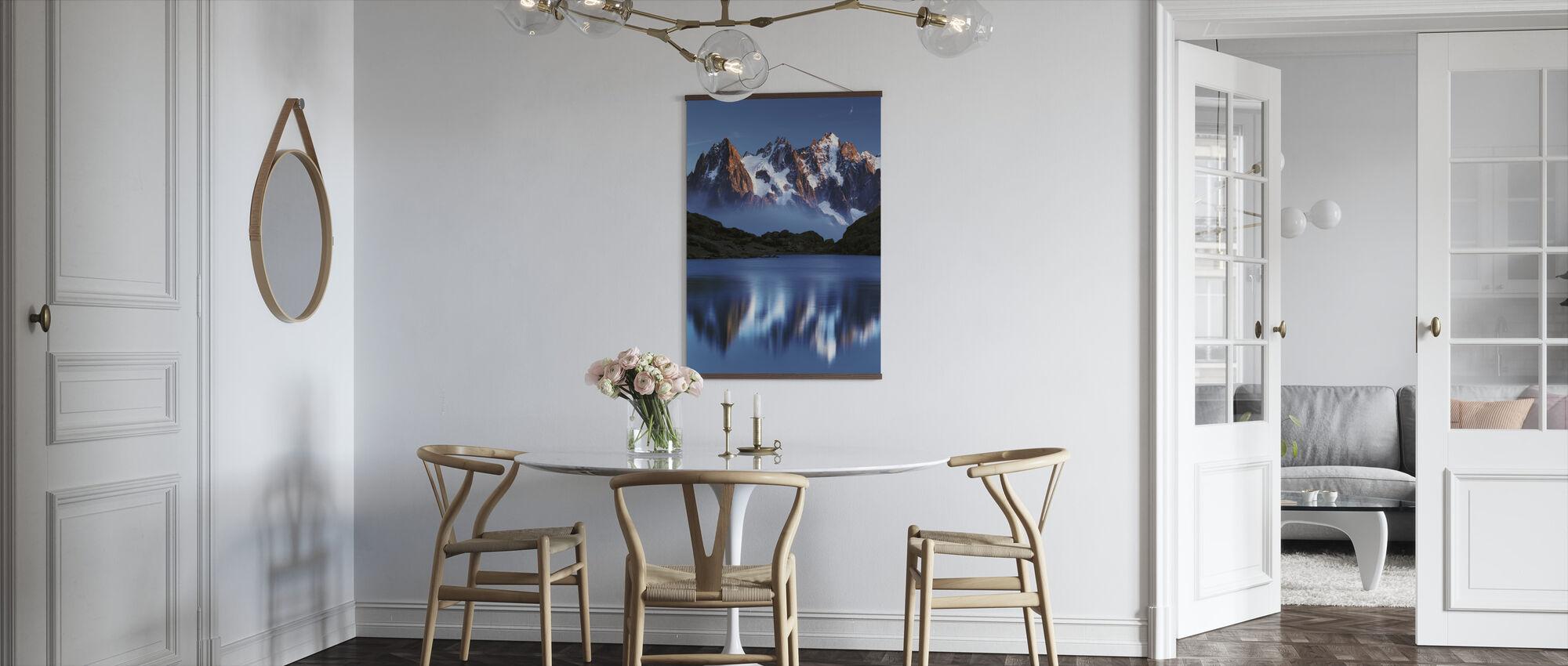 Blue Mountain Mirror - Poster - Kitchen
