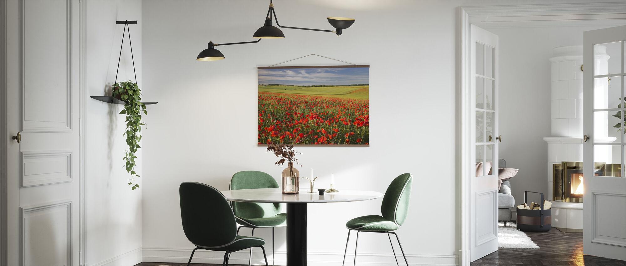 Meer der Mohnblumen - Poster - Küchen