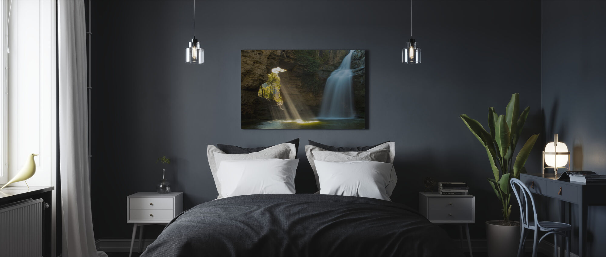 Secret Cave - Canvas print - Bedroom