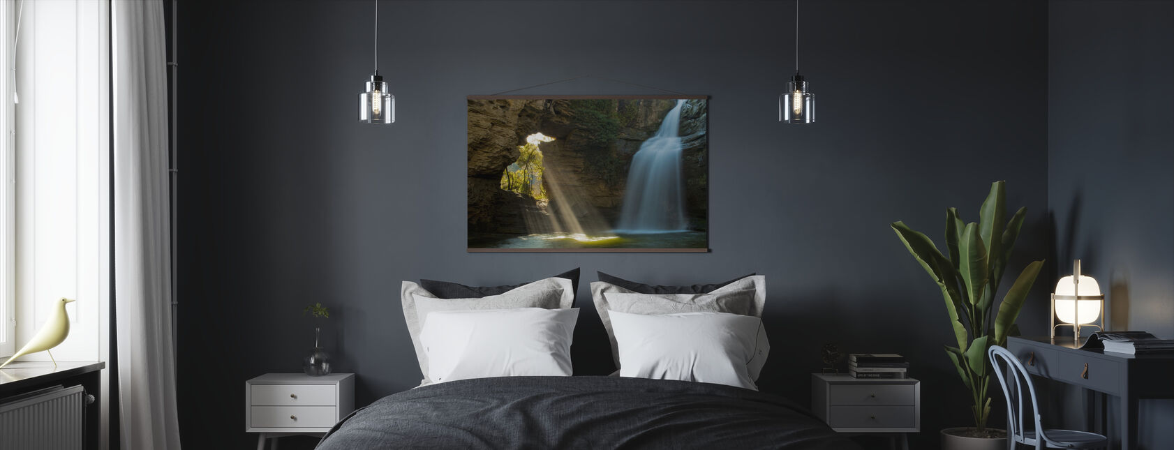 Secret Cave - Poster - Bedroom