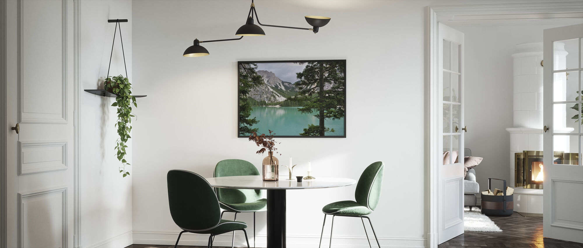 Surrounding Turquoise Water - Framed print - Kitchen