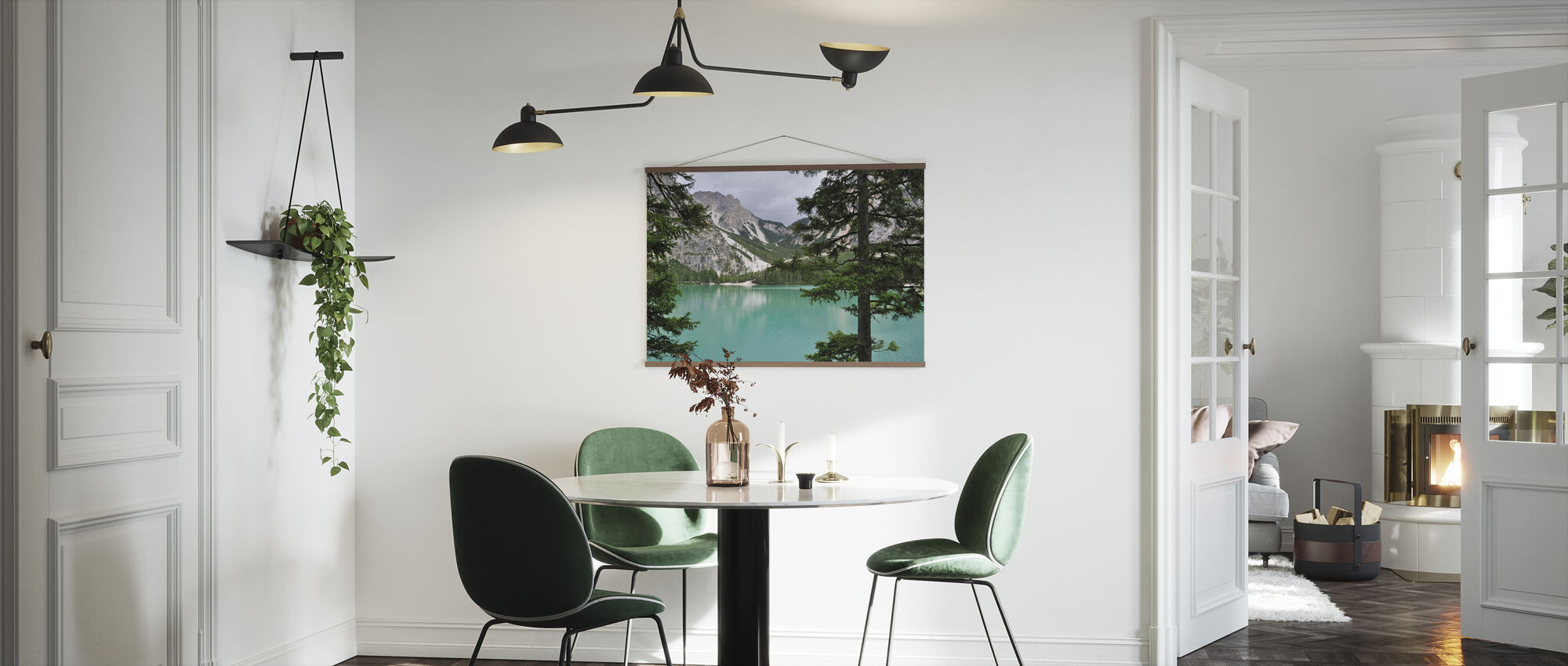 Surrounding Turquoise Water - Poster - Kitchen
