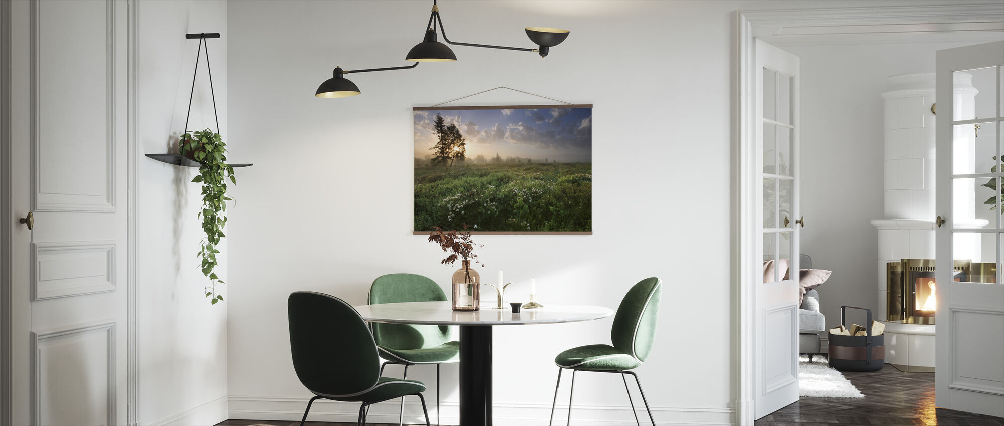 Delightful Meadow at Dawn - Poster - Kitchen