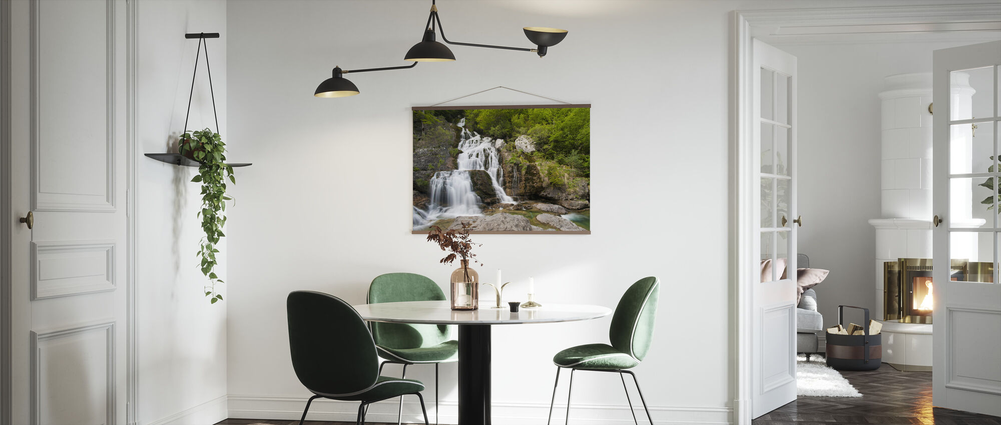 Springs of Yaga River - Poster - Kitchen