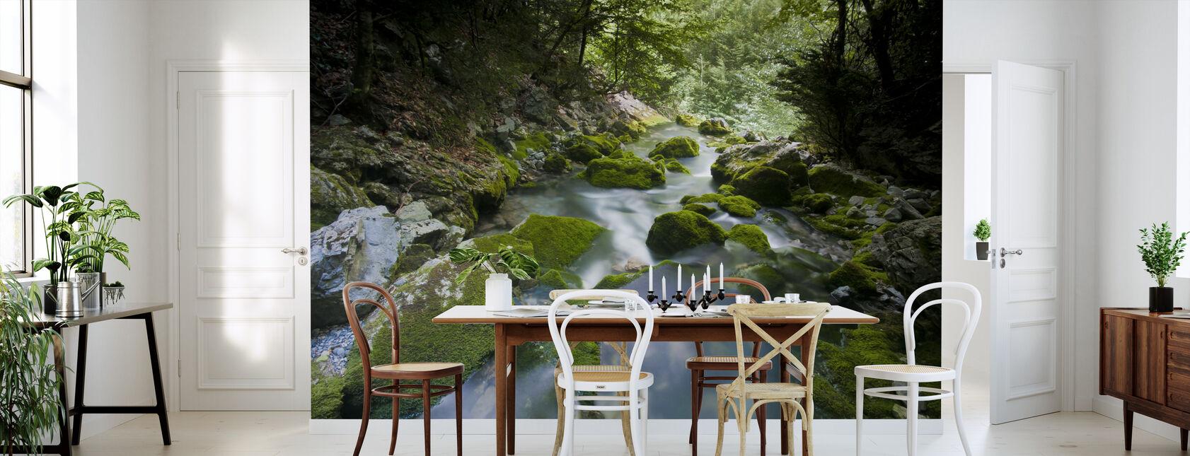 Secret Gleaming Stream - Wallpaper - Kitchen