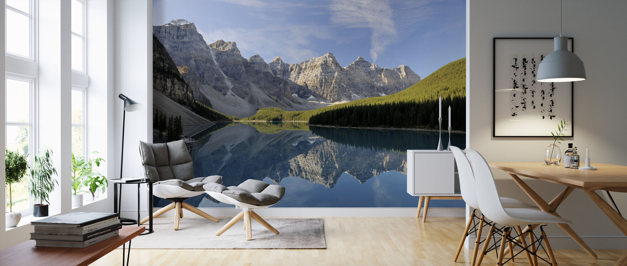 Moraine Lake - Wallpaper - Living Room