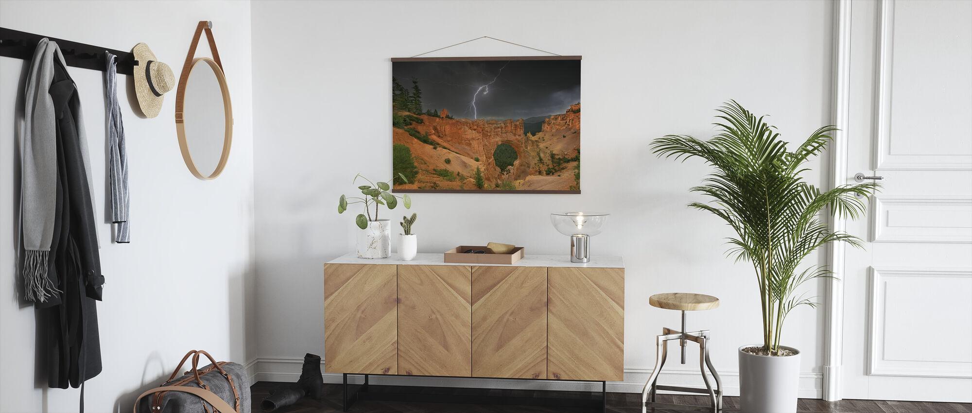 Summer Thunderstorm - Poster - Hallway