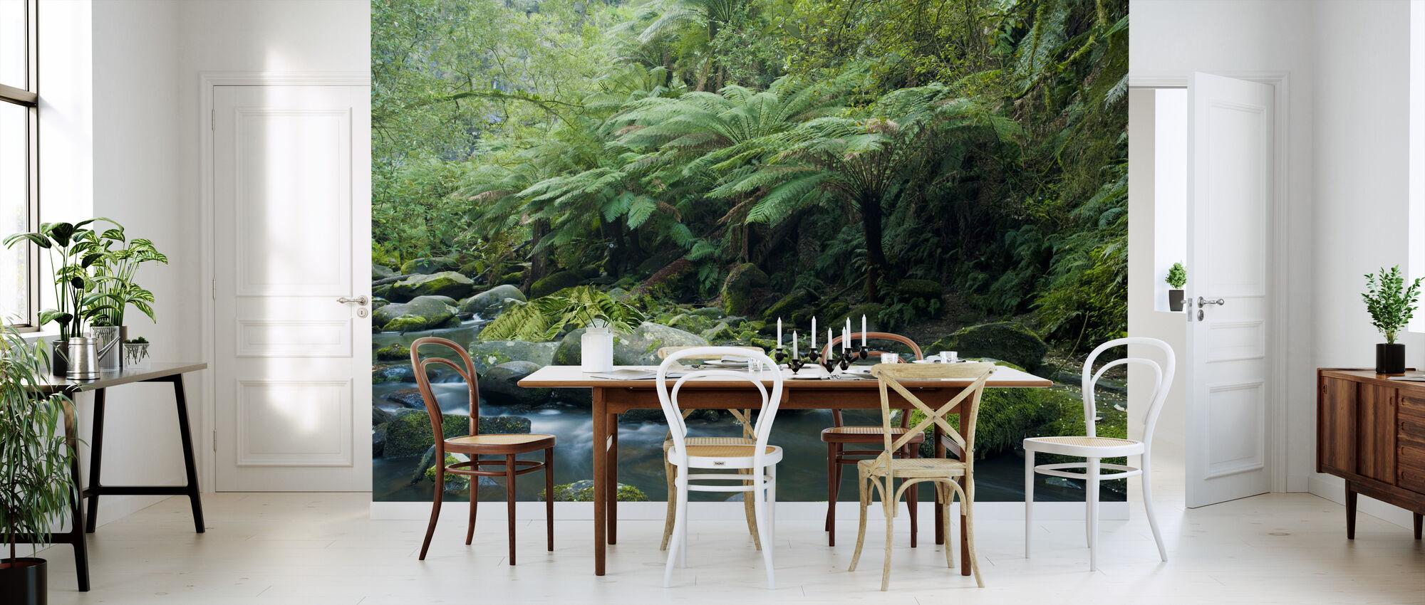 Tropical Verdancy - Wallpaper - Kitchen