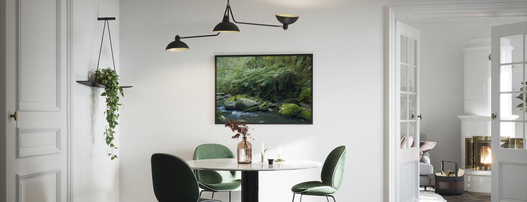 Tropical Verdancy - Framed print - Kitchen