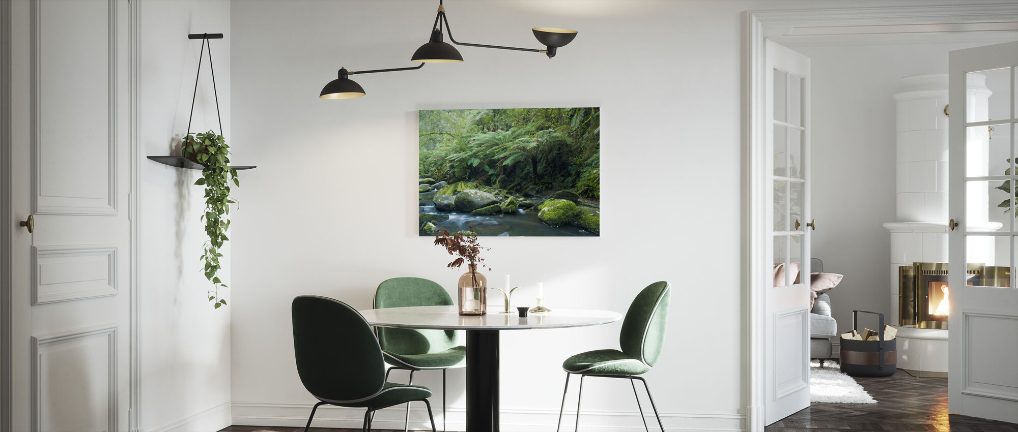 Tropical Verdancy - Canvas print - Kitchen