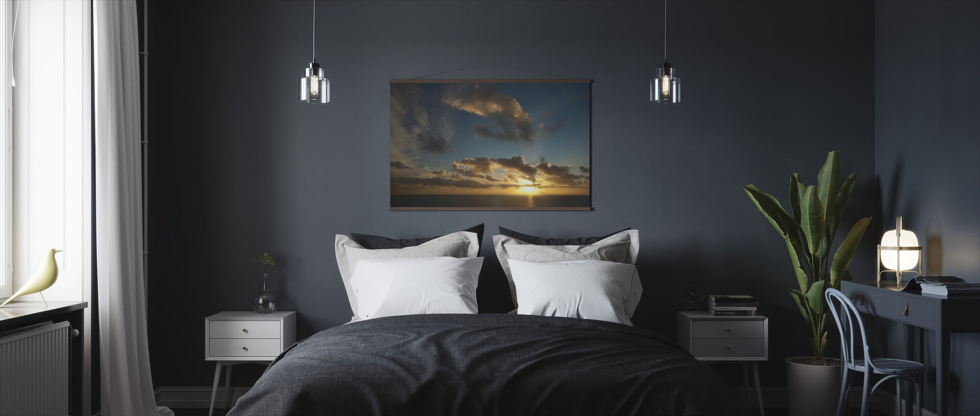 Sunset at Isle of Skye - Poster - Bedroom