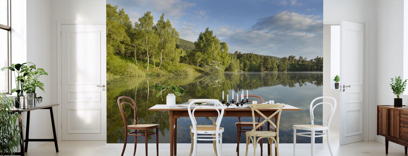 Fredlig Sommarsjö - Tapet - Kök