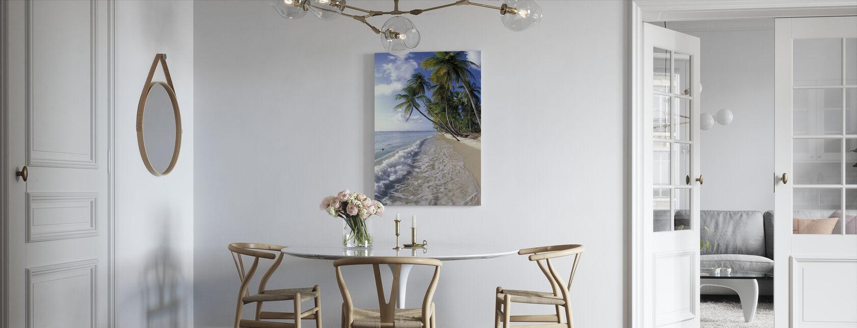 Tropical Seashore - Canvas print - Kitchen