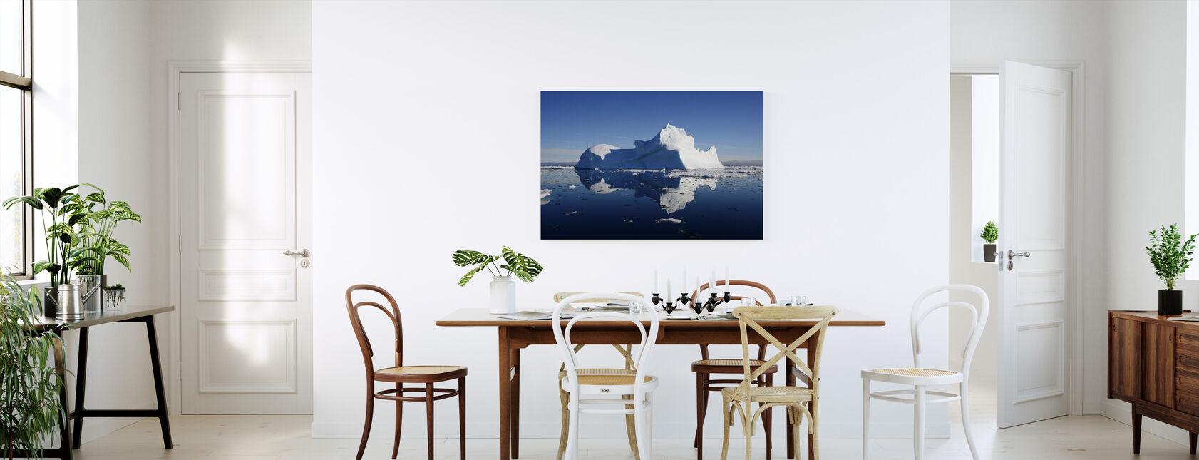 Jäävuori - Canvastaulu - Keittiö