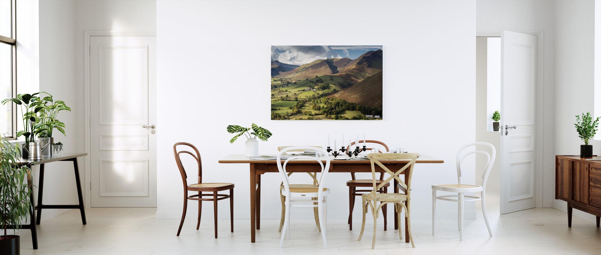 Newlands Valley - Canvas print - Kitchen