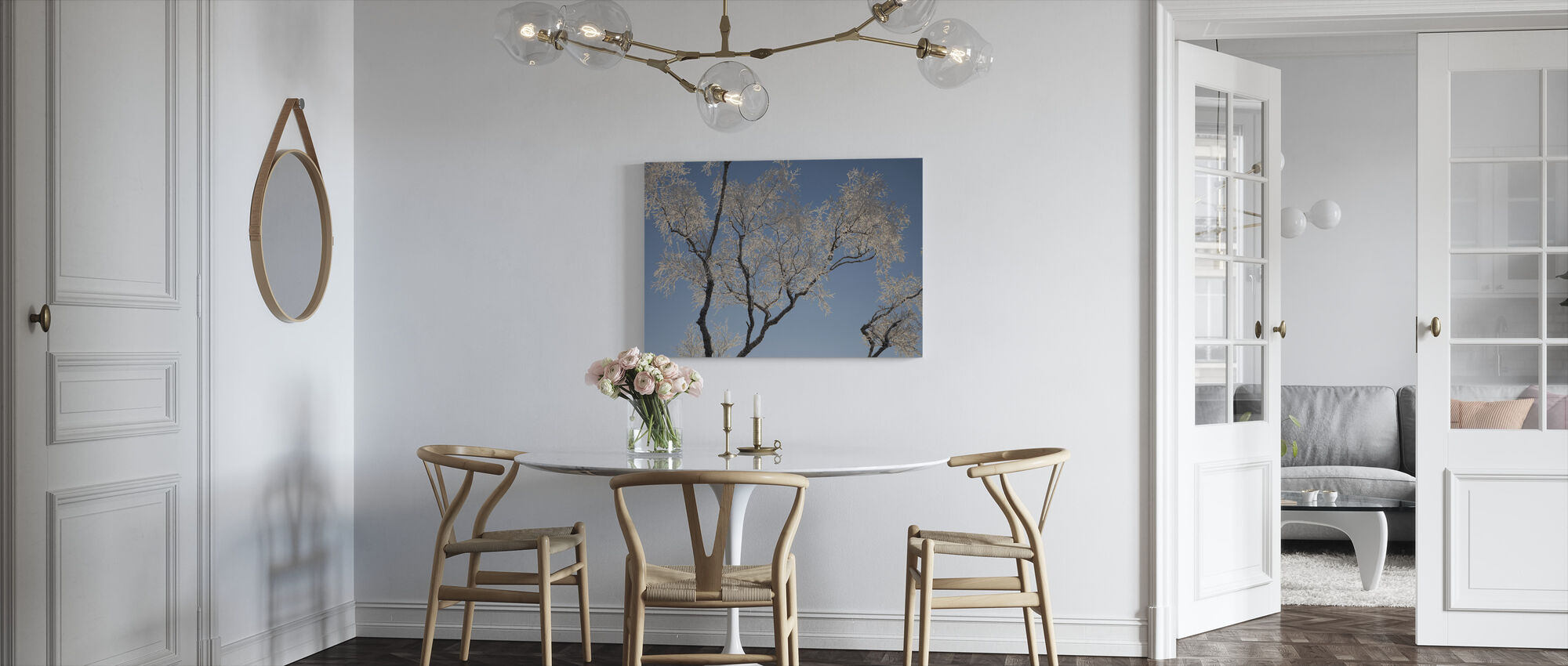Silver Birch - Canvas print - Kitchen