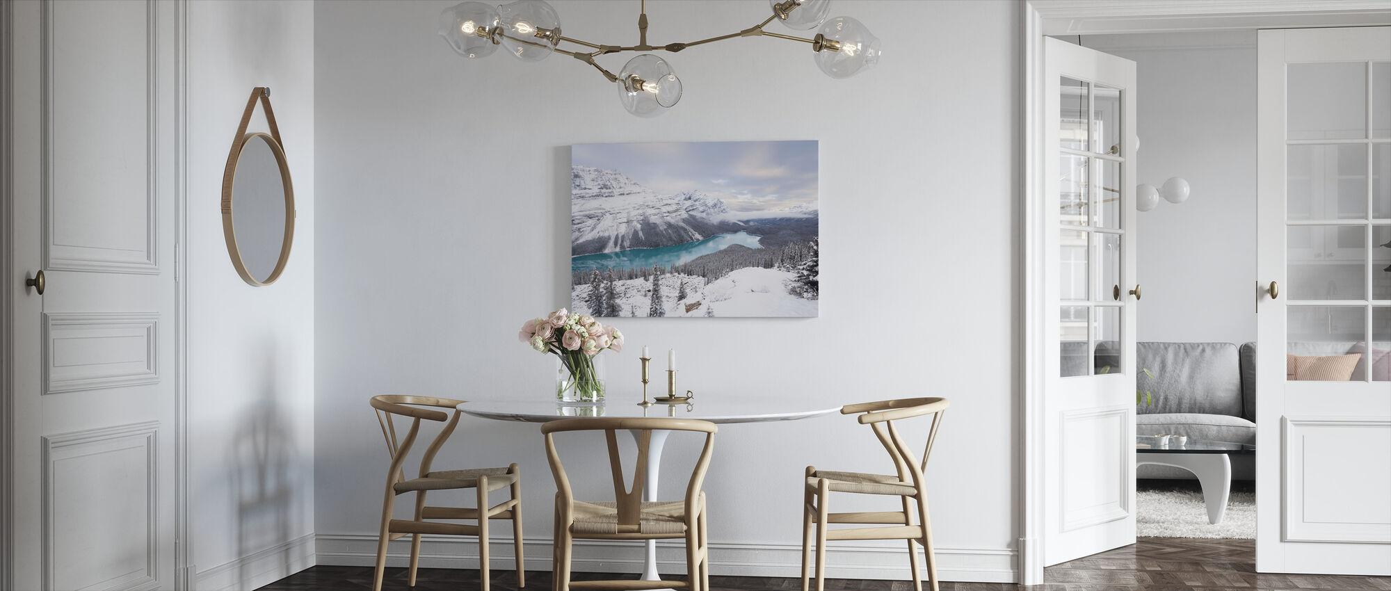 Glacial Lake - Canvas print - Kitchen