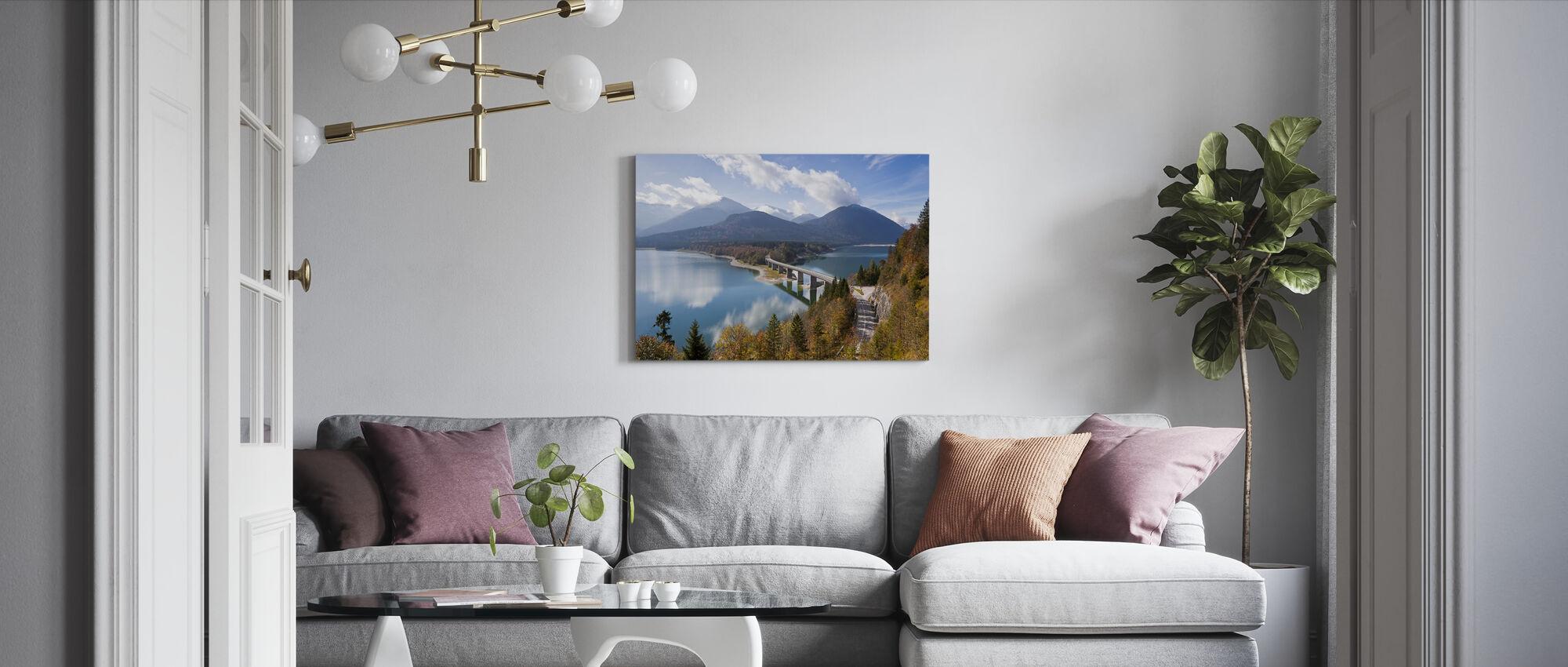 Bavaria - Canvas print - Living Room
