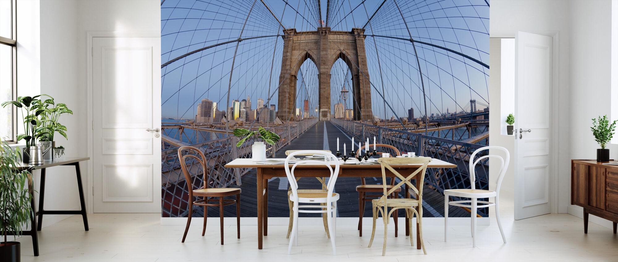Brooklyn Bridge Walkway - Behang - Keuken