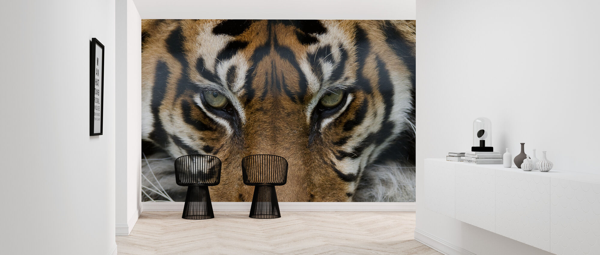 Eye of the Tiger - Wallpaper - Hallway