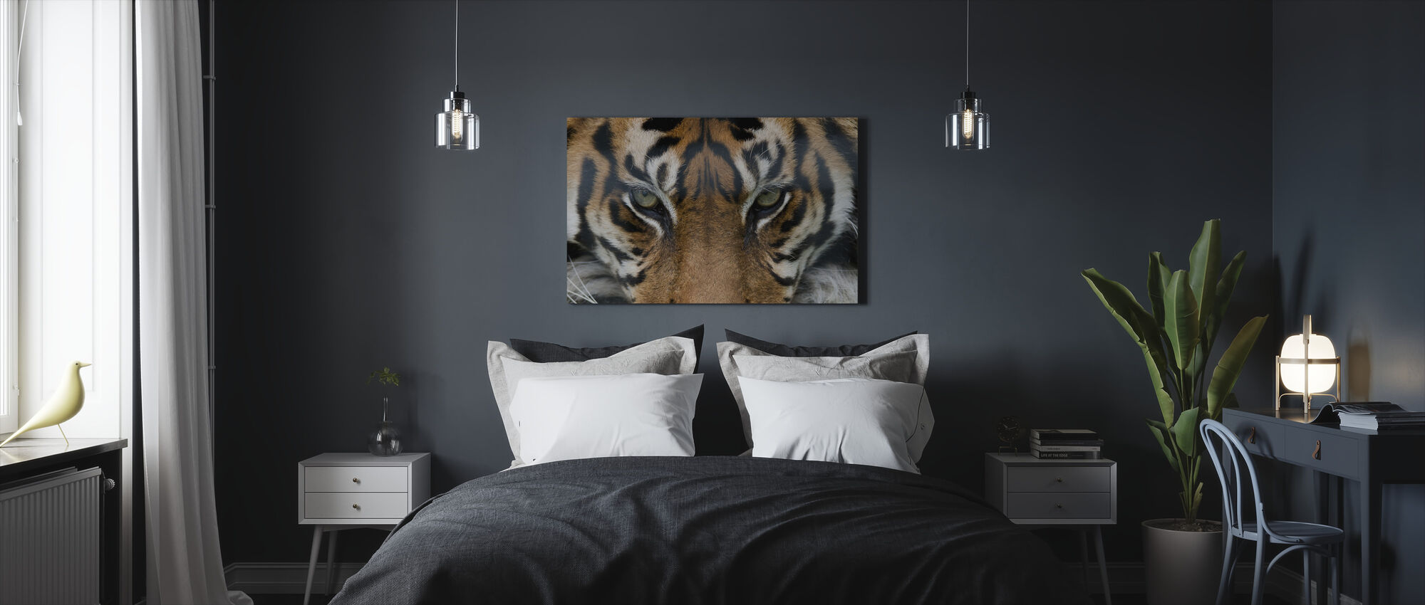 Eye of the Tiger - Canvas print - Bedroom