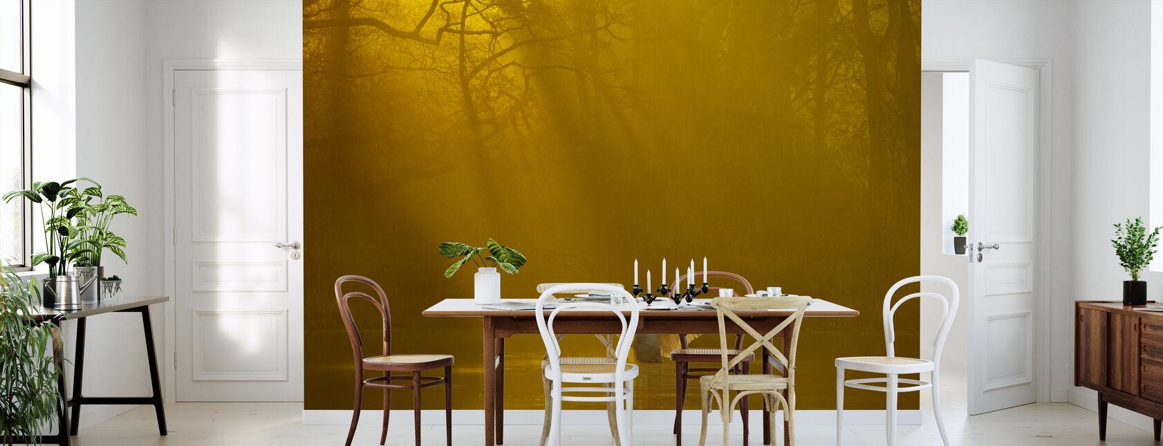 Golden Swan Lake - Tapet - Kjøkken