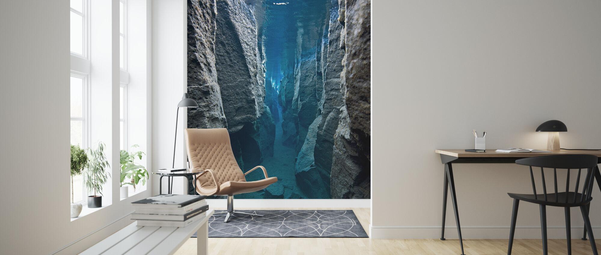 Deep Crack - Wallpaper - Living Room