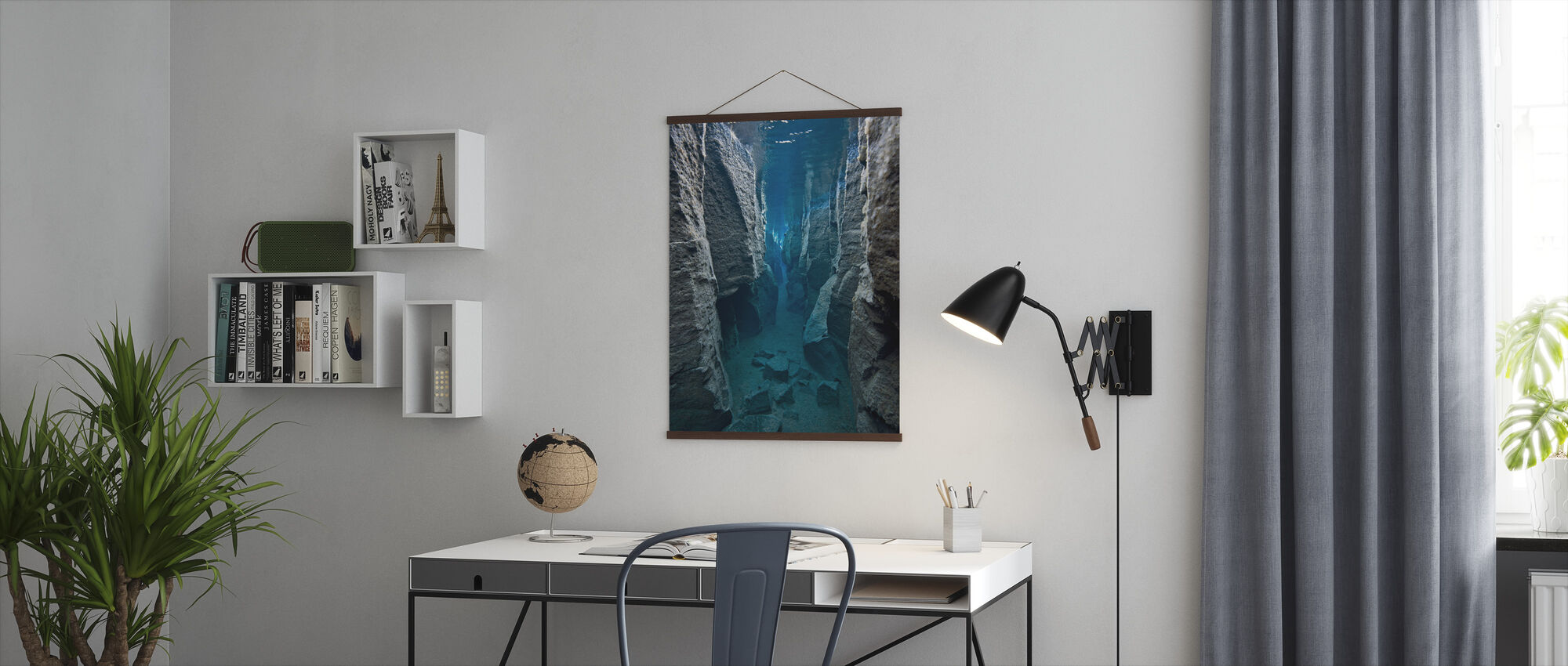 Deep Crack - Poster - Office