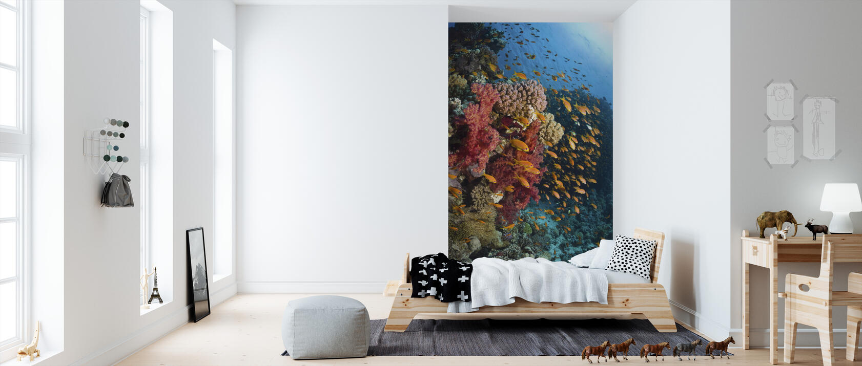 soft corals fototapete nach ma photowall. Black Bedroom Furniture Sets. Home Design Ideas