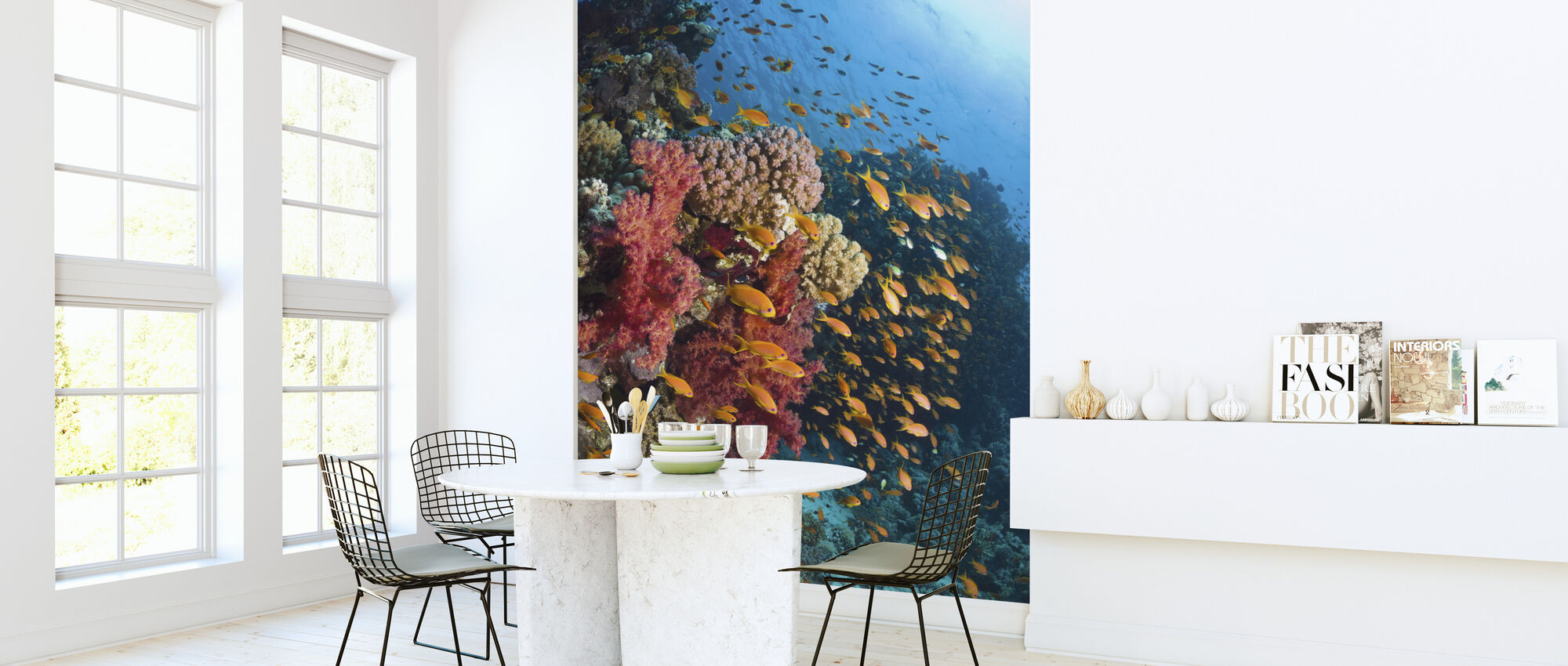 Soft Corals - Wallpaper - Kitchen
