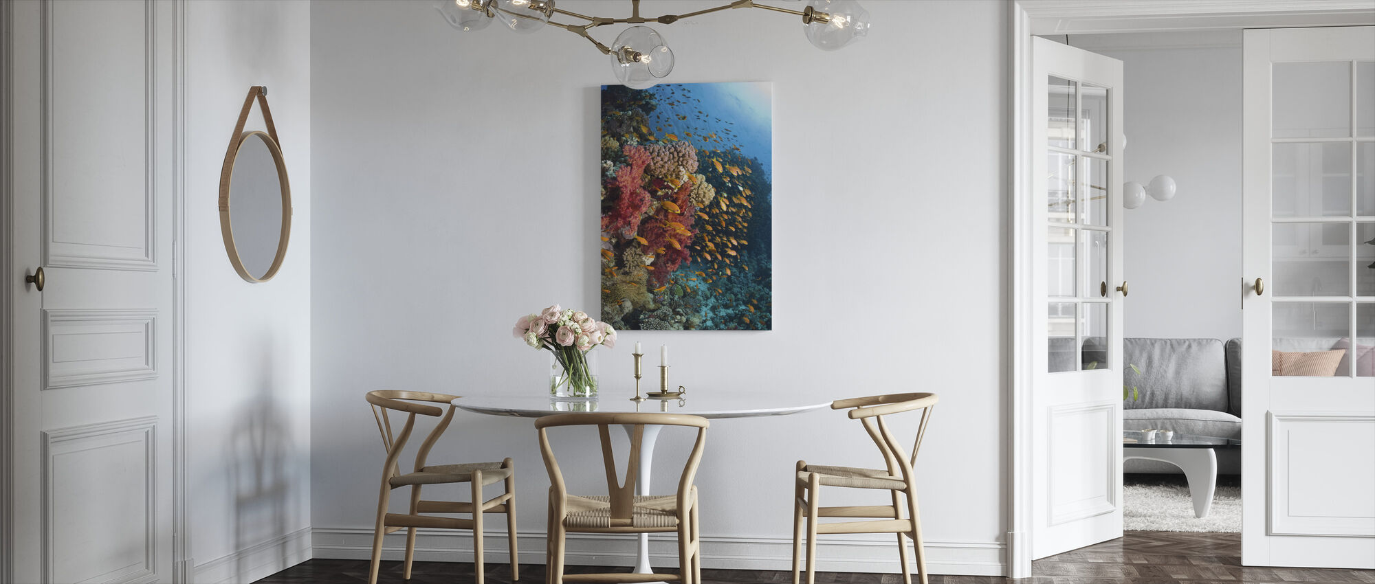 Soft Corals - Canvas print - Kitchen