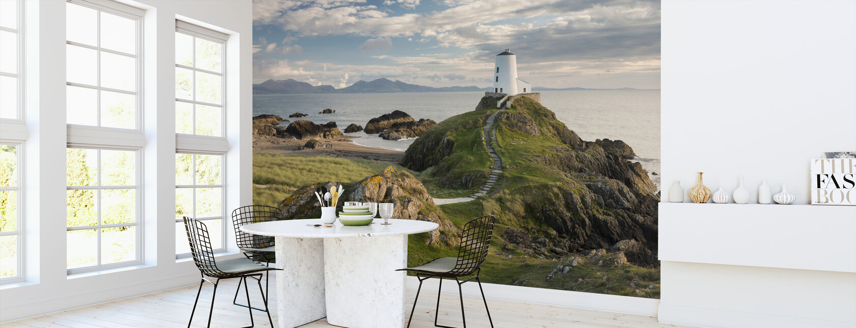 Llanddwyn Island Lighthouse - Wallpaper - Kitchen