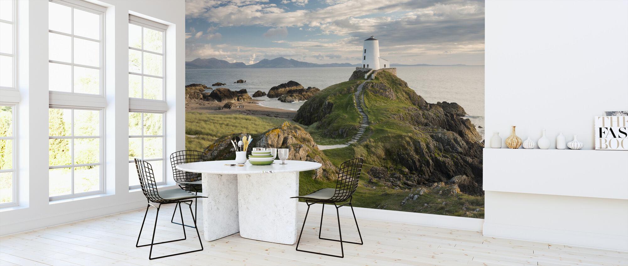 Llanddwyn Island Lighthouse - Wallpaper - Kitchen