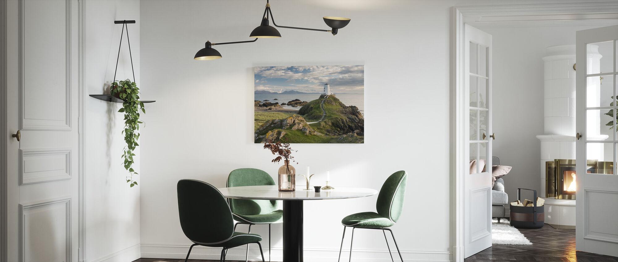 Llanddwyn Island Lighthouse - Canvas print - Kitchen